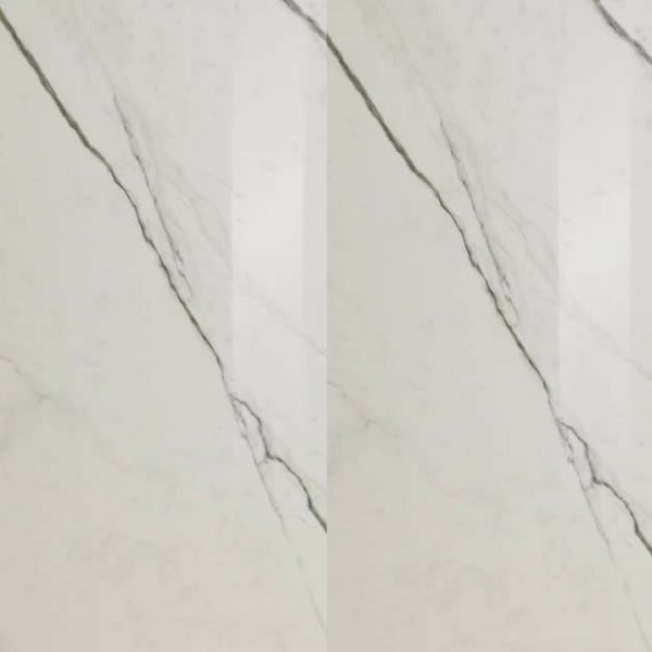 300×100 Slimtech Timeless Marble Statuario White lev rt Granitna keramika, Lea Ceramiche