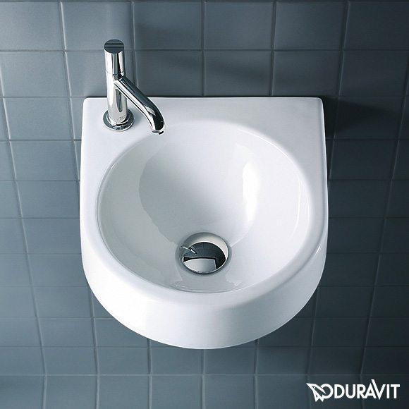 Architec lavabo prečnika 360 mm, bez preliva, beli, Duravit