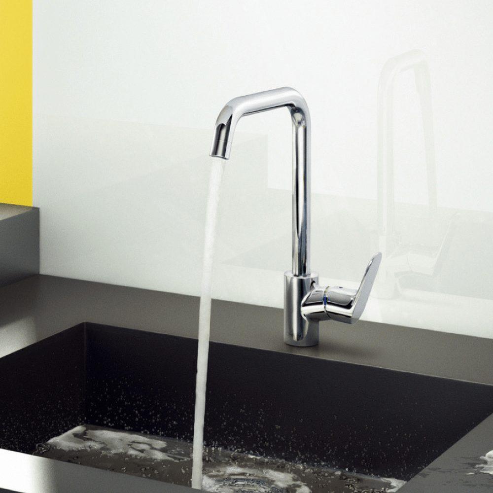 kuhinjska slavina za sudoperu visoka 260 mm zona konfora hansgrohe. Black Bedroom Furniture Sets. Home Design Ideas