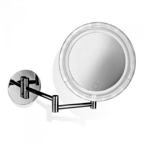 okruglo kozmeti ko ogledalo sa led svetlom decor walther. Black Bedroom Furniture Sets. Home Design Ideas