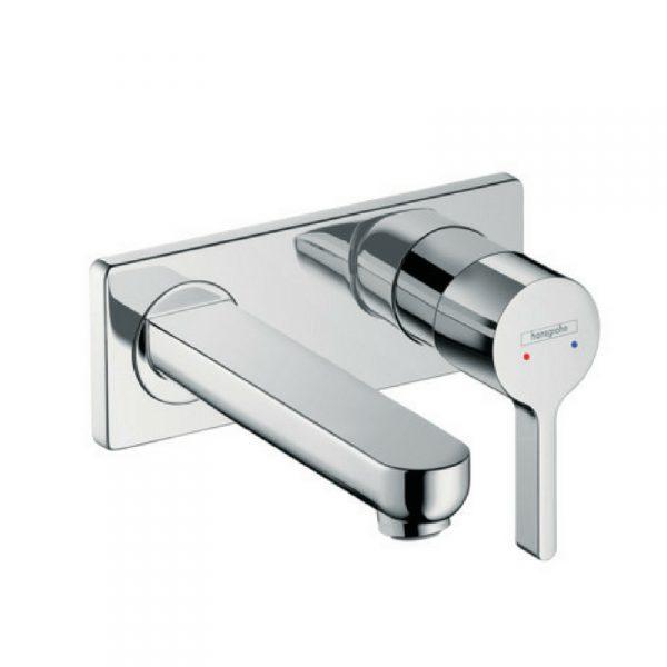 Metris S slavina za lavabo – zidna 165mm