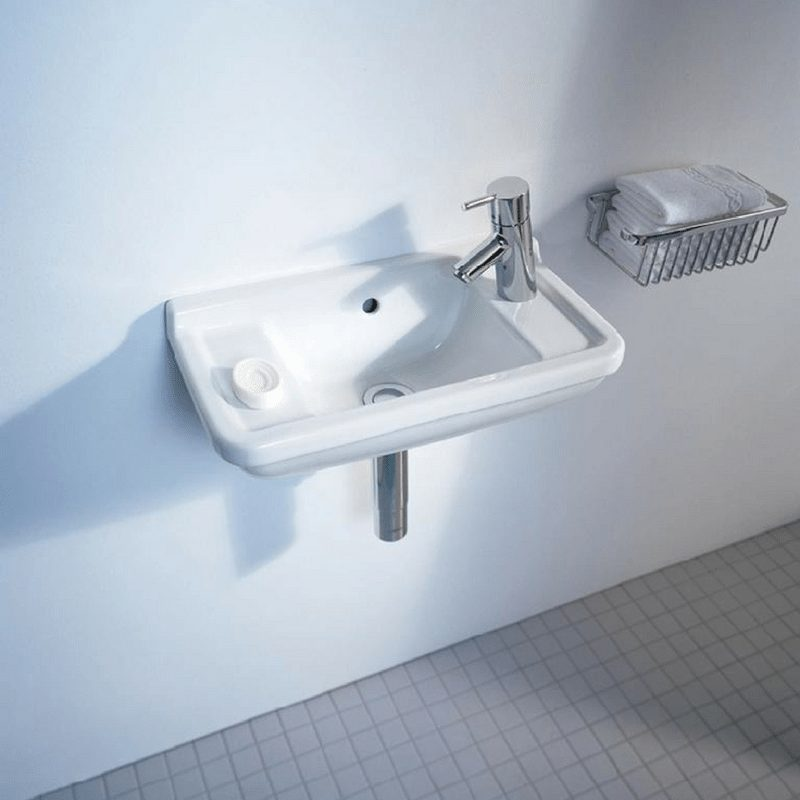 starck 3 lavabo 50x26 cm otvor za slavinu desno duravit. Black Bedroom Furniture Sets. Home Design Ideas
