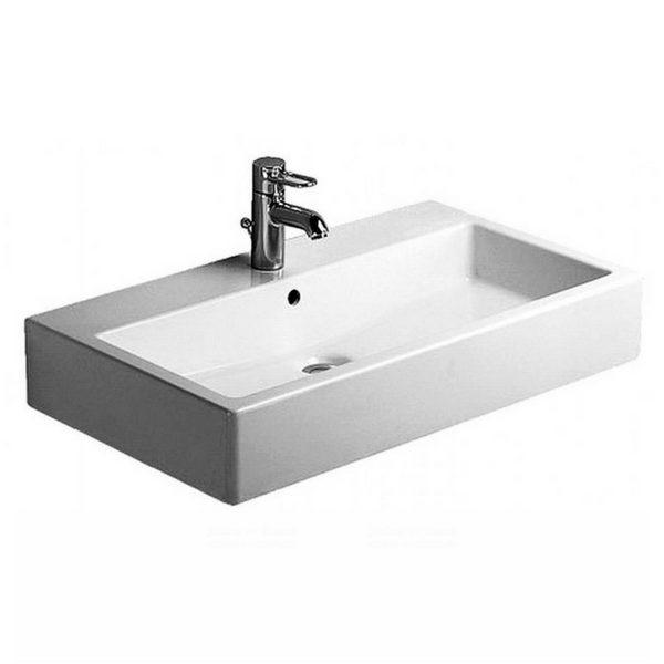 nadgradni lavabo vero serija dimenzije 80 x 47 cm duravit. Black Bedroom Furniture Sets. Home Design Ideas