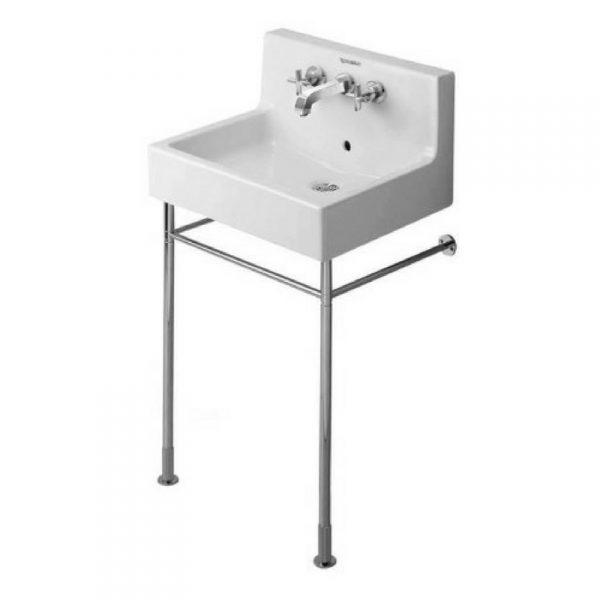 Vero Metalana konzola, podesiva visina +50 mm, hrom, za umivaonik 045360