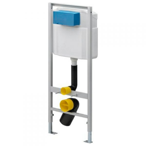 1130, Viega Eco element za konzolnu WC šolju, za konzolnu WC šolju, okvir od čelika, elektrostatički
