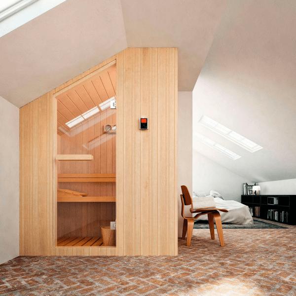 Finska sauna Nuvola 133×100 cm za dve osobe