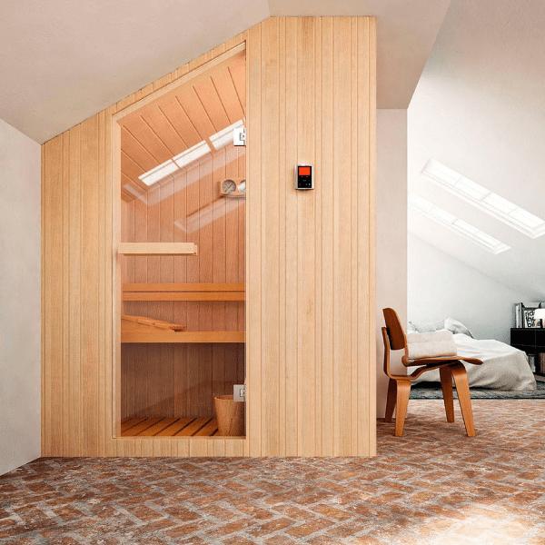 Finska sauna Nuvola 176×144 cm za 4 osobe