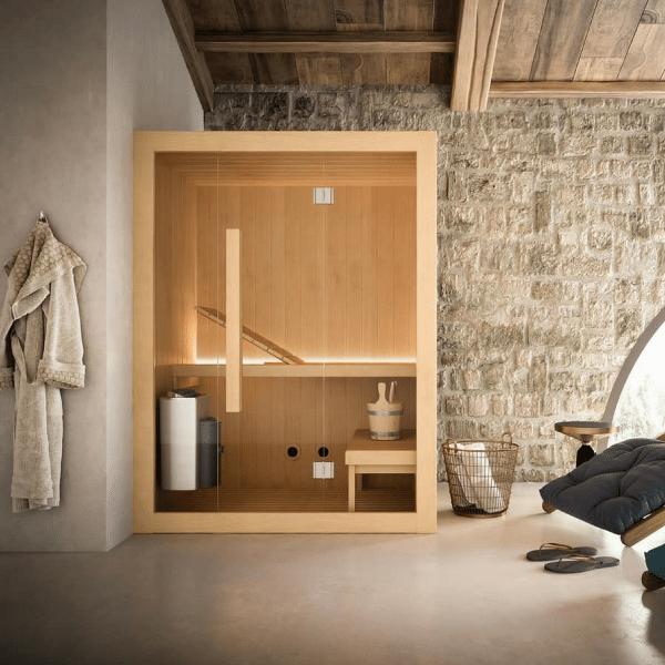 Sauna Hoshi 150×135 cm za 2 do 3 osobe