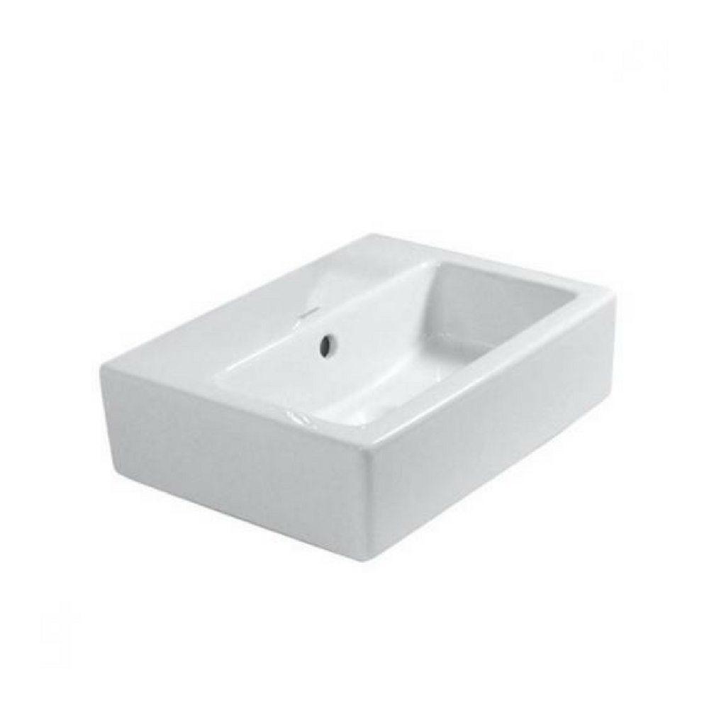 Vero lavabo širine 45 cm Vero četvrtasti beli Duravit