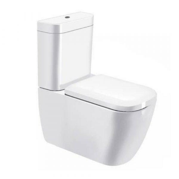 Happy D.2 WC šolja za monoblok, 365×630 Duravit