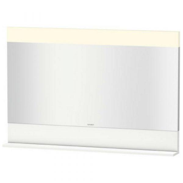 Ogledalo sa osvetljenjem Vero belo 1200×800 Duravit