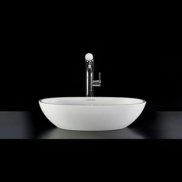 Barcelona 48 nadgradni lavabo beli Victoria&Albert 1