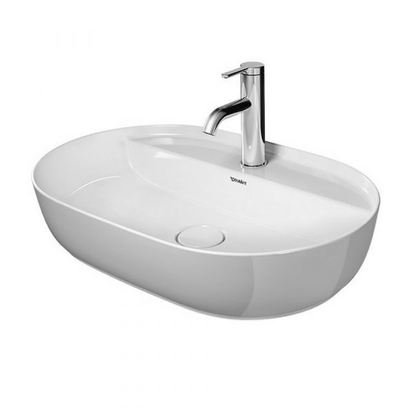 LUV lavabo 600×400 mm, sa WonderGliss glazurom, Duravit