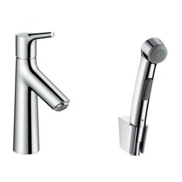 Slavina za lavabo sa ručnim tušem za bide Talis Select S Hansgrohe