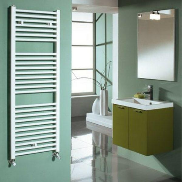 Sušač za kupatilo, LISA 22, beli, 500×1400 mm Cordivari