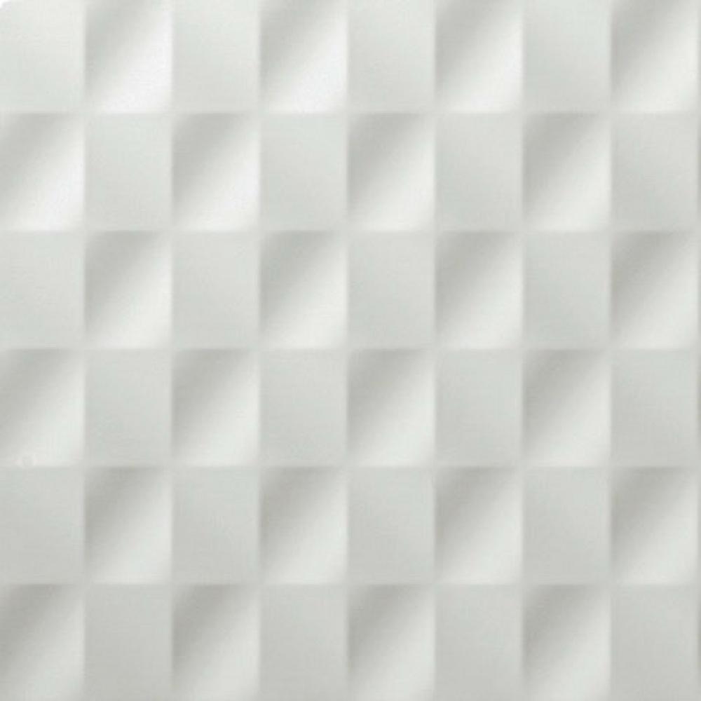 40×80 3D Wall 3D Mesh zidna pločica mat bela 40×80 Atlas Concorde