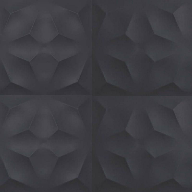 40×80 3D Wall Diamond Night Matt zidna keramika Atlas Concorde 1