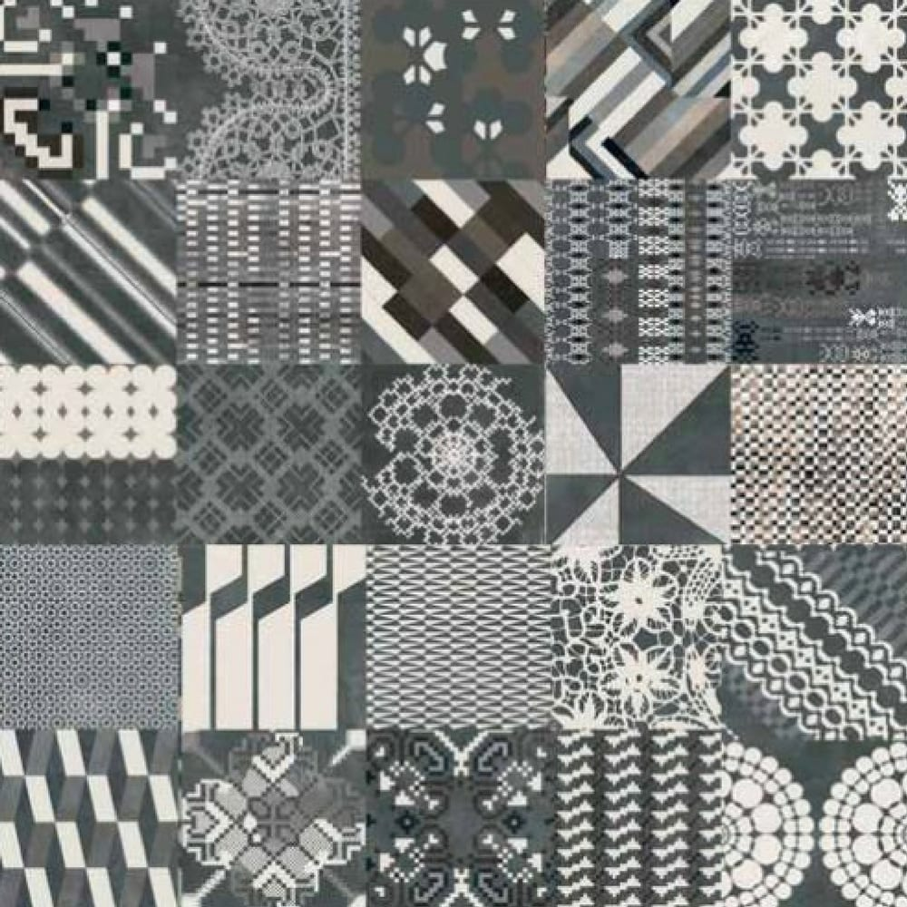 Azulej Combination Nero 20X20 Mutina 1
