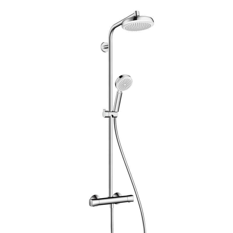 Crometta 160 1jet bela/hrom showerpipe Hansgrohe 1