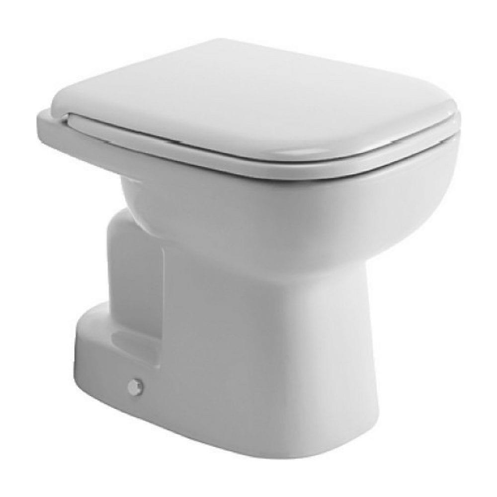 D-Code WC šolja, vodoravni odvod, samostojeća Duravit 1