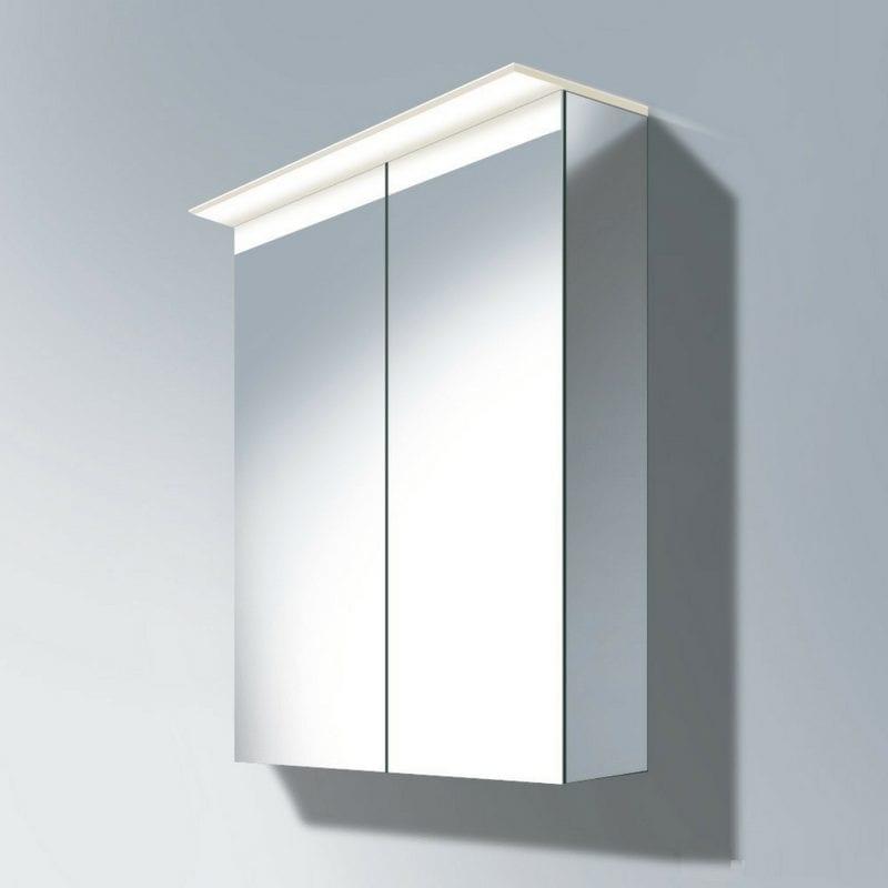 Delos kabinet sa ogledalom 760x600mm LED modul 3500 Kelvin 1
