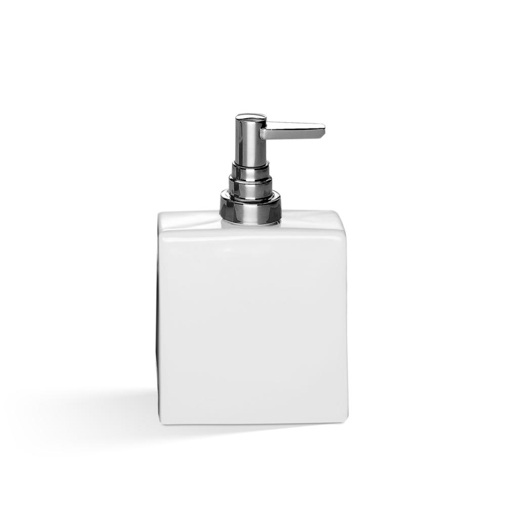 Dozator za tečni sapun 320 ml, bela hrom, DW 6290, Decor Walther