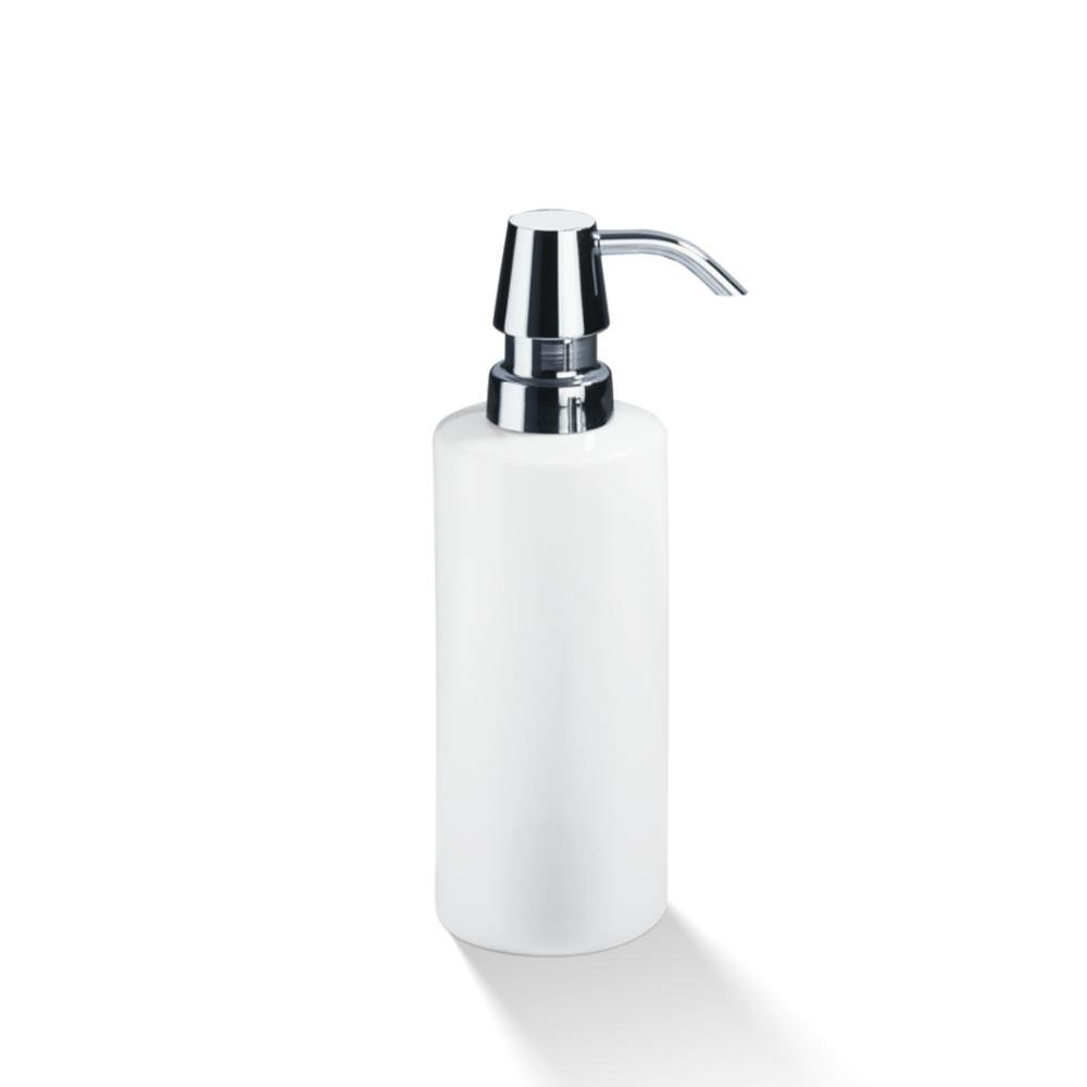 Dozator za tečni sapun, porcelan bela hrom, DW 480, Decor Walther