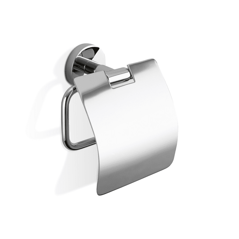 Držač toalet papira sa poklopcem, hromiran, model BA TPH4, Decor Walther 1