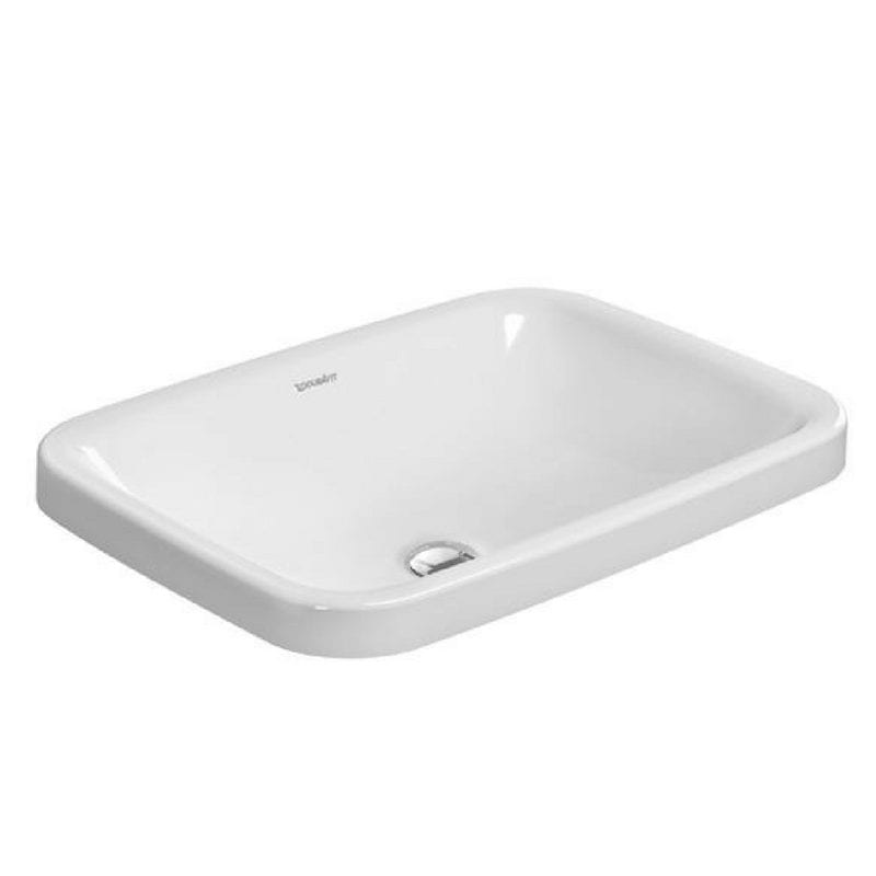 DuraStyle ugradni lavabo, 600×430, Duravit 1