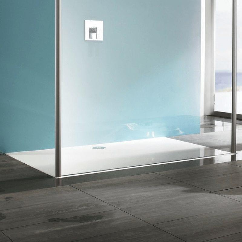 EasyStep četvrtasta kadica bele boje dimenzije 120 x 90 cm 1