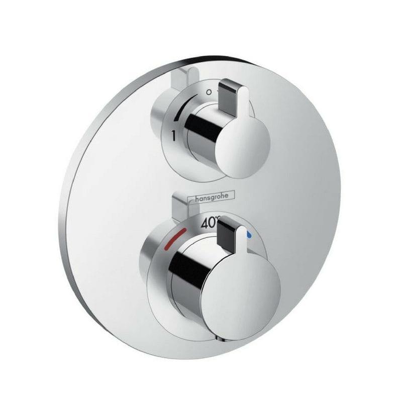 Ecostat S termostatski mešač sa prebacivačem Hansgrohe 1