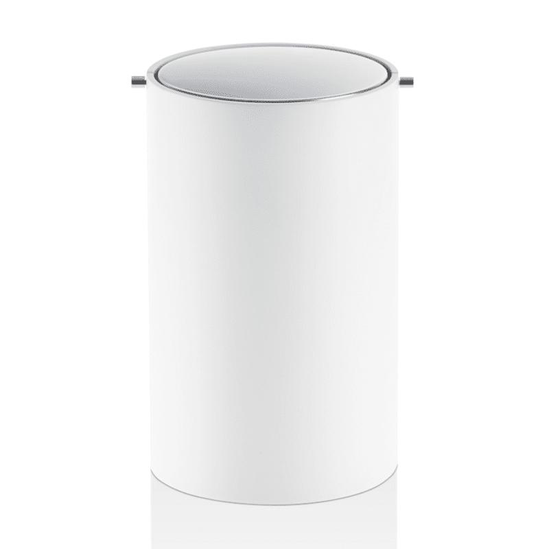 Kanta za papir sa rotirajućim poklopcem, Belo-Hrom, model BEMD, serija Stone 1