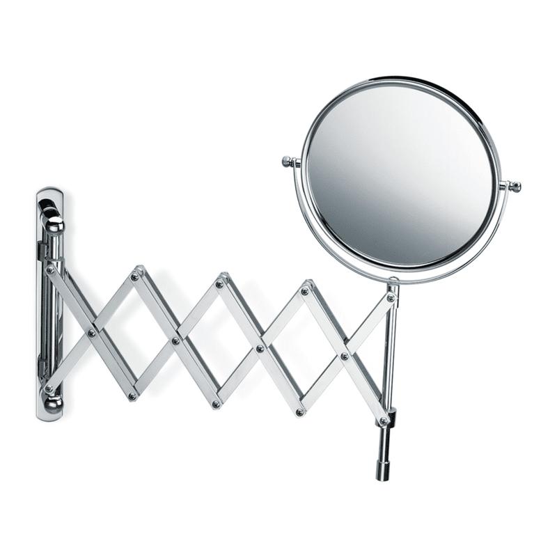 Kozmetičko ogledalo hromirano, 5 x uvećanje, Model SPT 18, Decor Walther 1