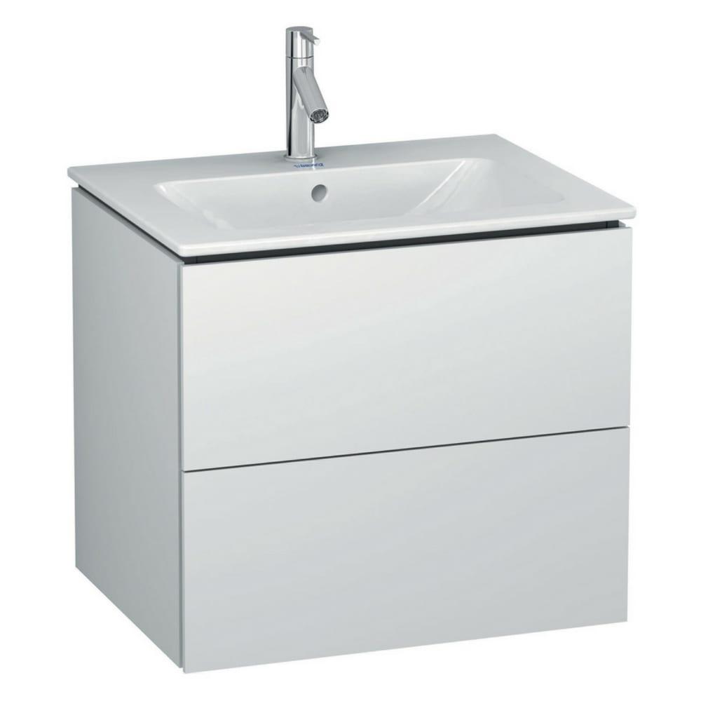 L-Cube kupatilski ormarić 820×481 mm bela mat Duravit 1