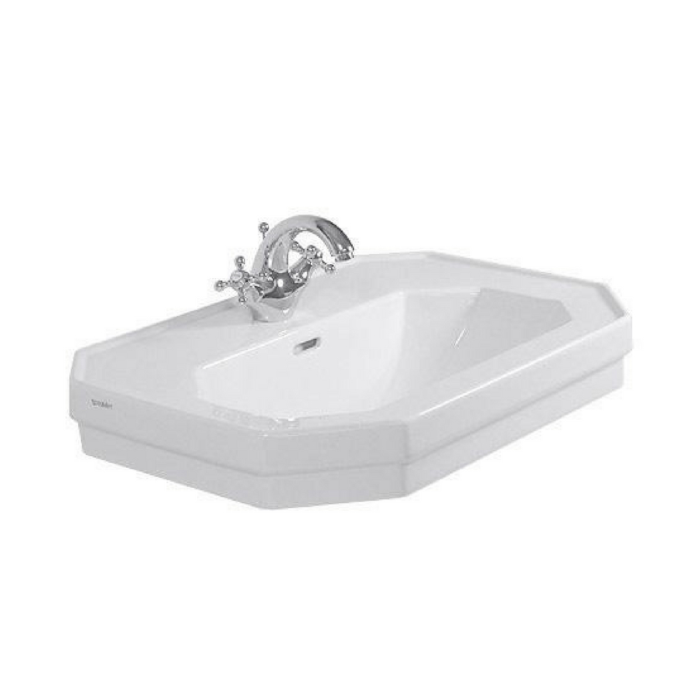 Lavabo 1930 Series 800x550mm beli WonderGliss Duravit