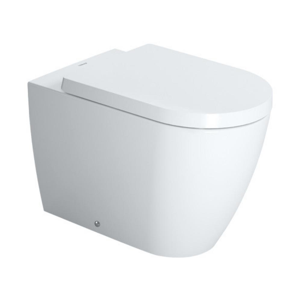 ME by Starck WC šolja, sa antibakterijskom glazurom, podna, 370 x 600, Duravit