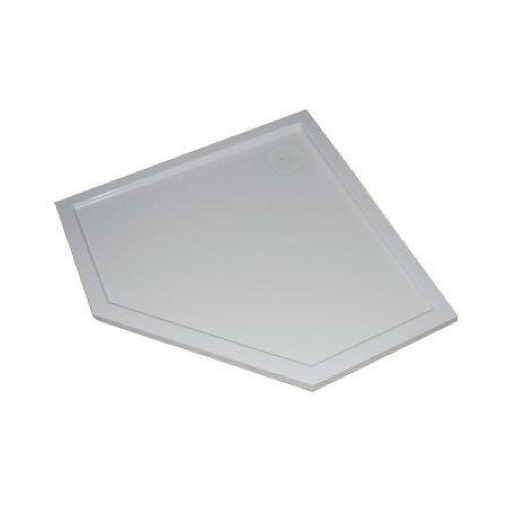 Purano petougaona kadica bele boje A1 1000 mm A2 1000 mm 1