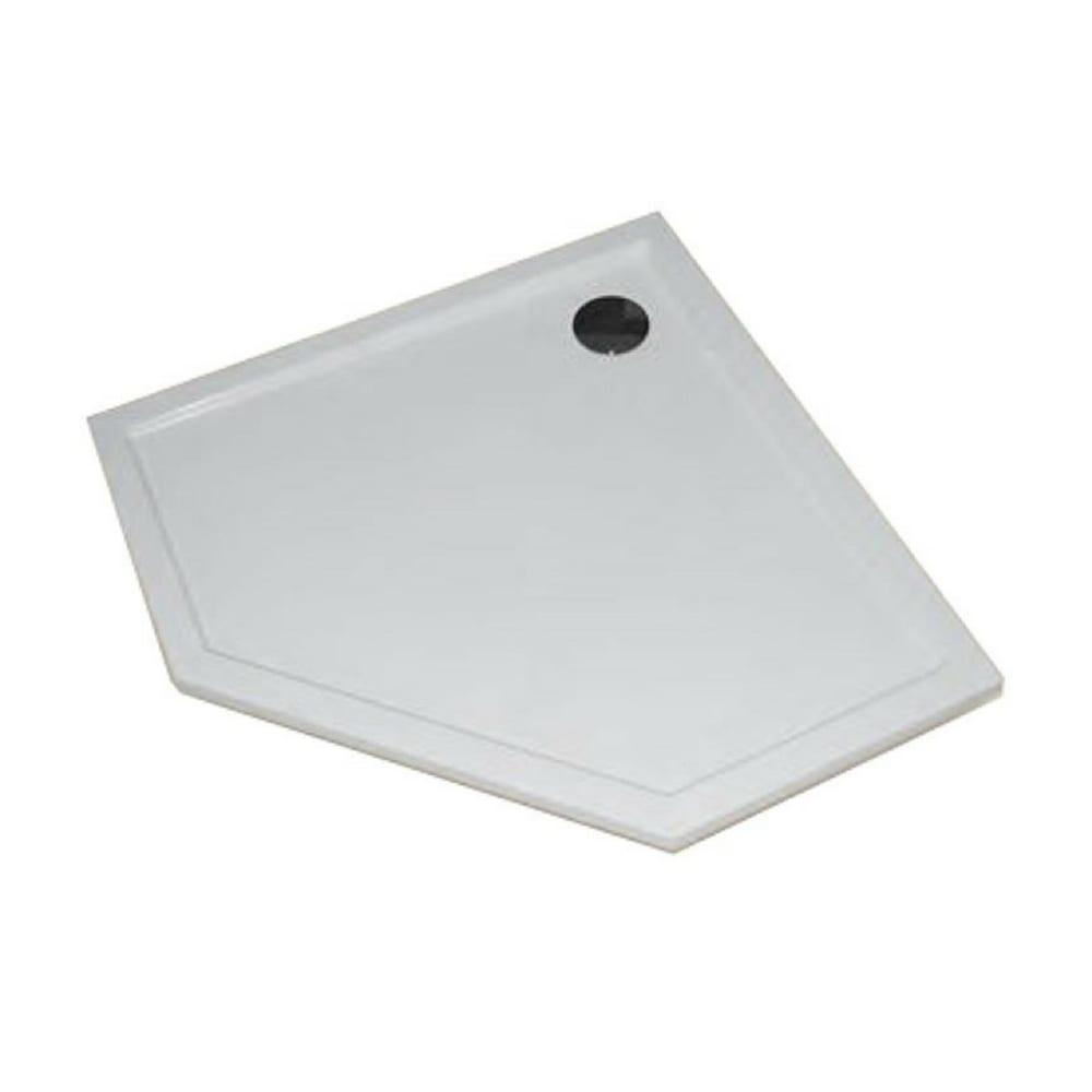 Purano petougaona kadica bele boje A1 900 mm A2 900 mm Huppe 1