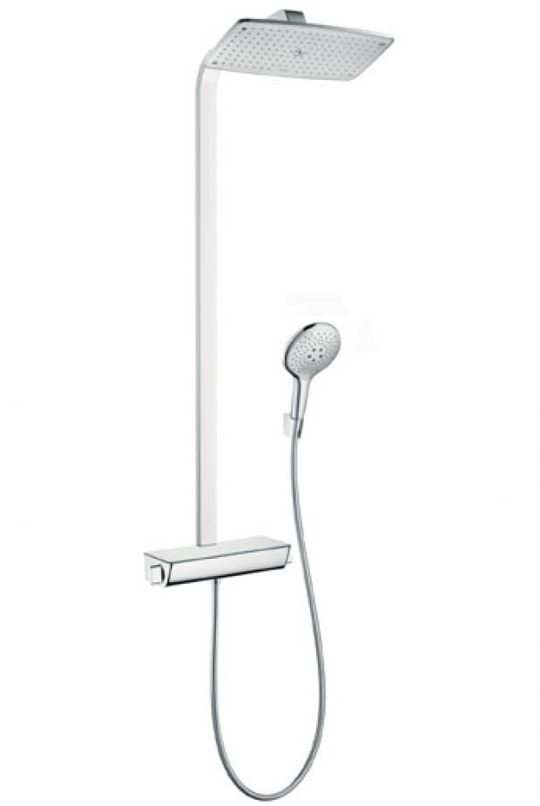 Raindance select 360 Showerpipe bela/hrom 1