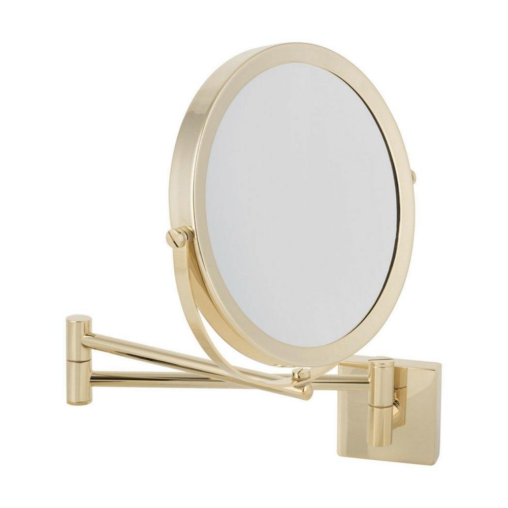 SP 28 Kozmetičko ogledalo, zlatno, 5x uvećanje 1