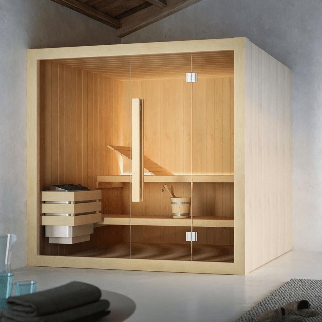 Sauna Hoshi 180×135 cm za 3 do 4 osobe Glass 1