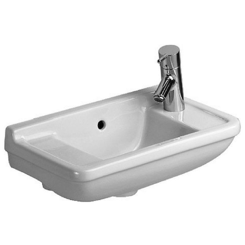 Starck 3 lavabo, 50×26 cm, otvor za slavinu desno 1