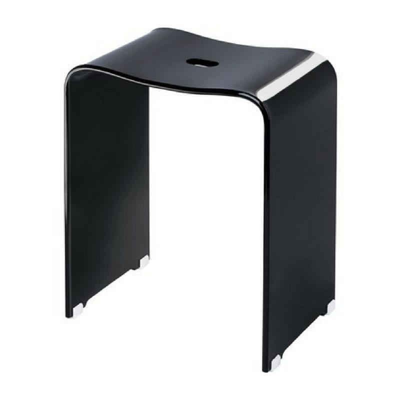 Stolica za tuš kabinu, crna, model DW 80, Decor Walther 1