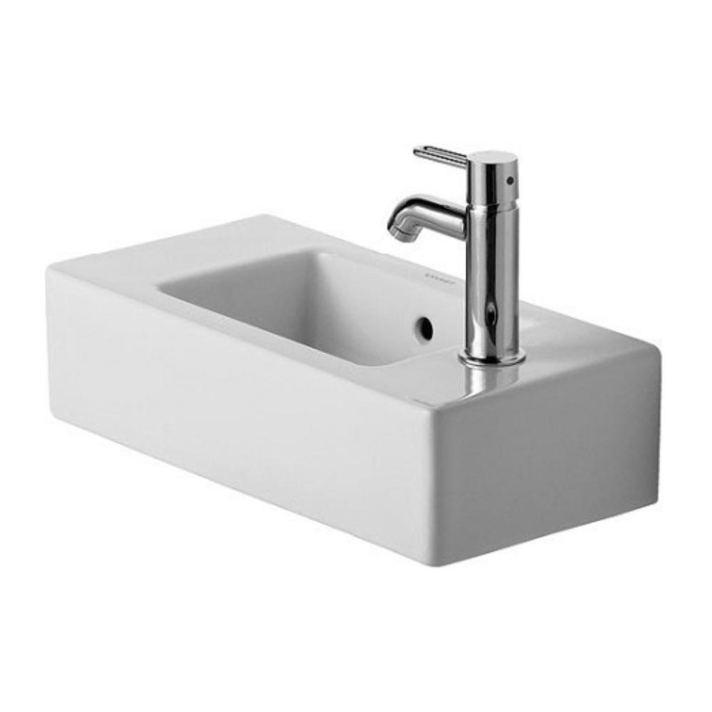 Vero lavabo 500×250, desni sa wonder gliss glazurom, Duravit