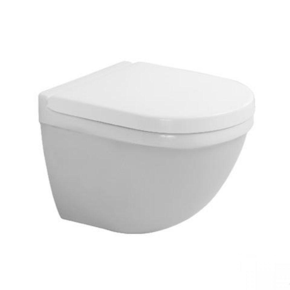 WC šolja Starck 3, kompaktna, zidna, sa WonderGliss glazurom, Duravit