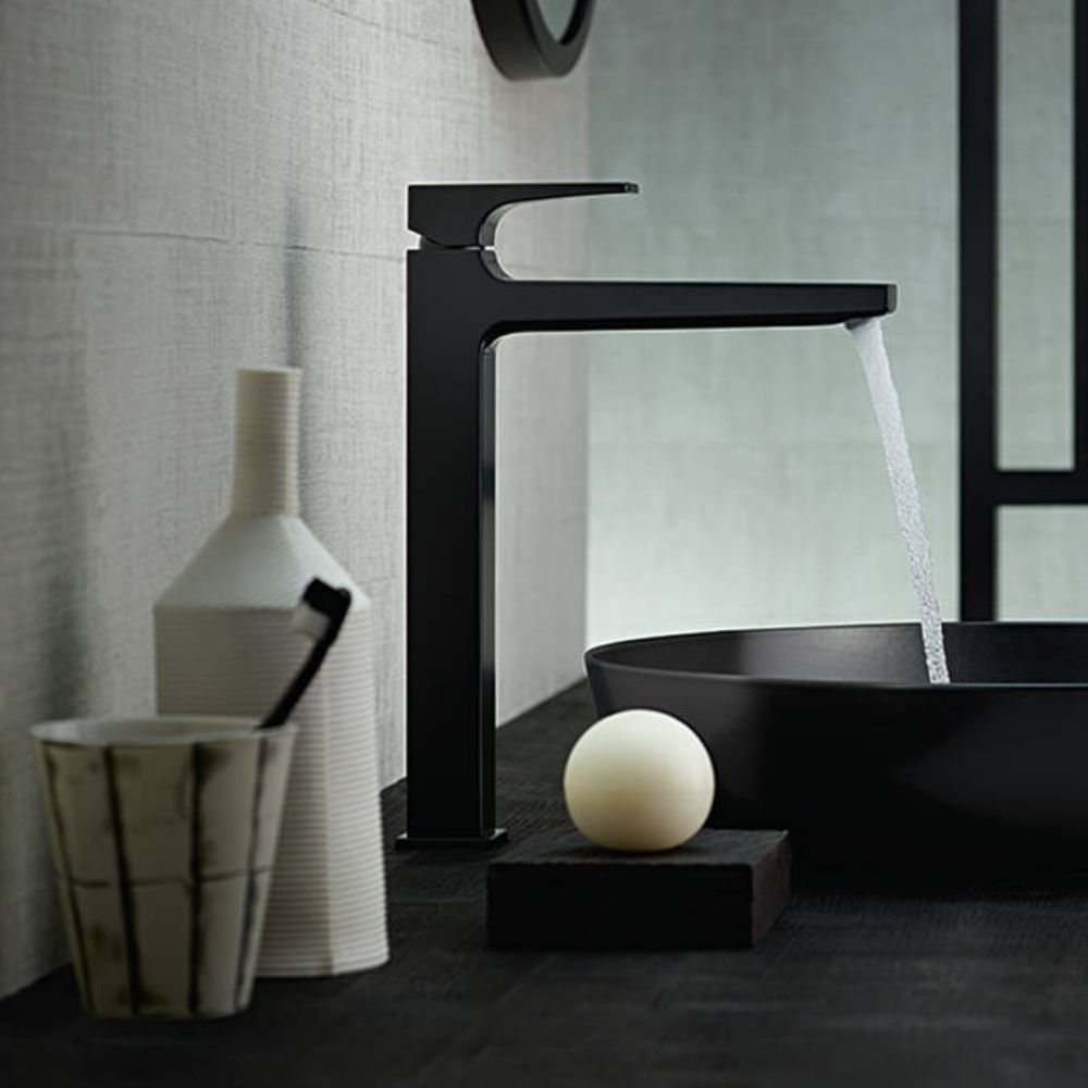 Metropol 260 slavina za lavabo crna matirana Hansgrohe