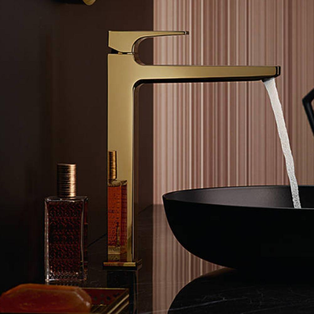 Metropol 260 slavina za lavabo, polirano zlatne nijanse, Hansgrohe