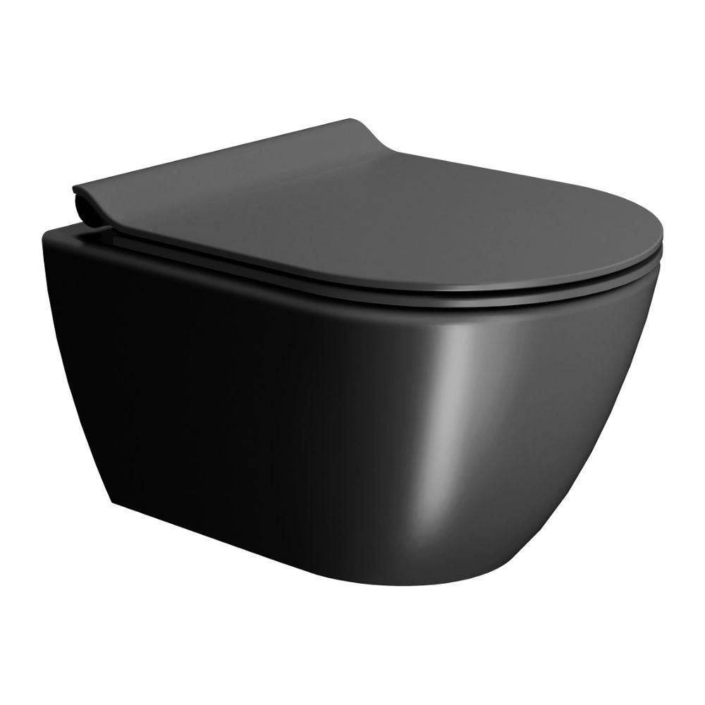 Konzolna Wc Šolja 50×36 Pura Ardesia sa Swirlflush tehnologijom ispiranja, GSI