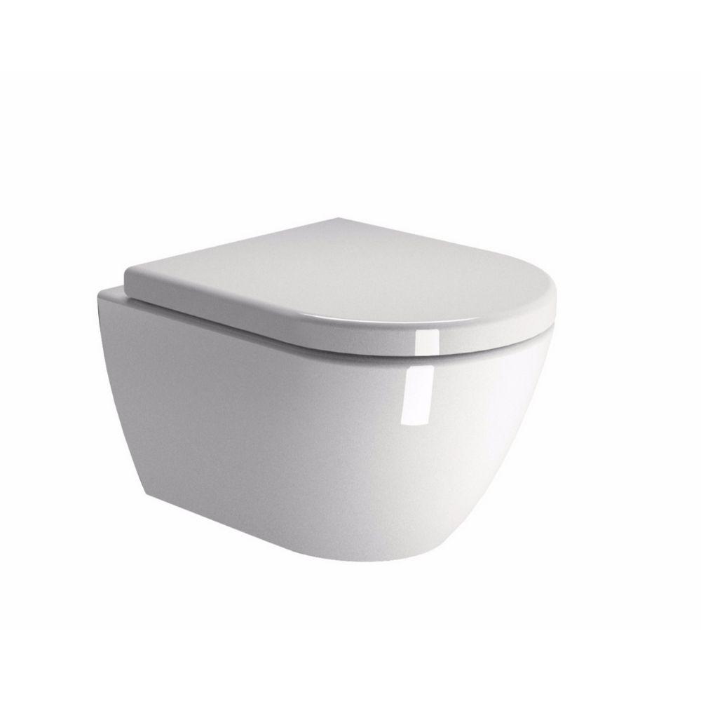 Konzolna WC šolja 50×36, bela, GSI