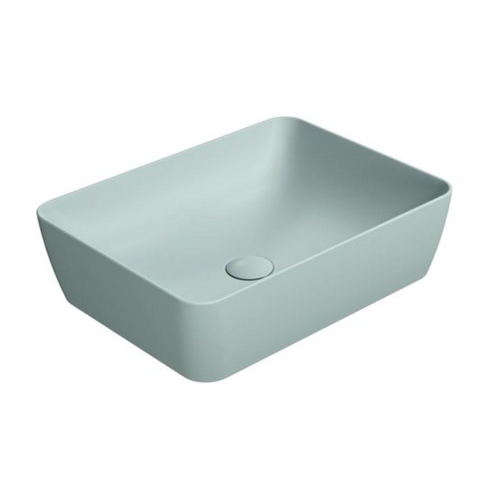 Nadgradni lavabo Sand 50×38, boja Ghiaccio, GSI